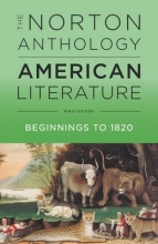 Levine, Robert S. The Norton Anthology of American Literature 9e Vol A