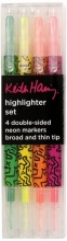 Keith Haring Highlighter Pen Set