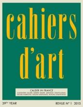 Alexander S. C. Rower,   Susan Braeuer Dam Cahiers d`Art N Degrees1, 2015