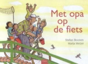 Stefan  Boonen, Marja  Meijer Met opa op de fiets