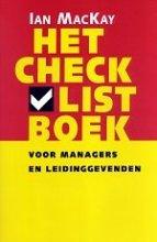 Ian MacKay , Het checklistboek voor managers en leidinggevenden