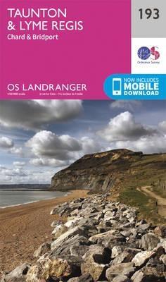 Ordnance Survey,Taunton & Lyme Regis, Chard & Bridport