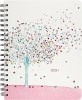 , Bureau agenda 2020 16 mnd tree of hearts 20.3x25.4