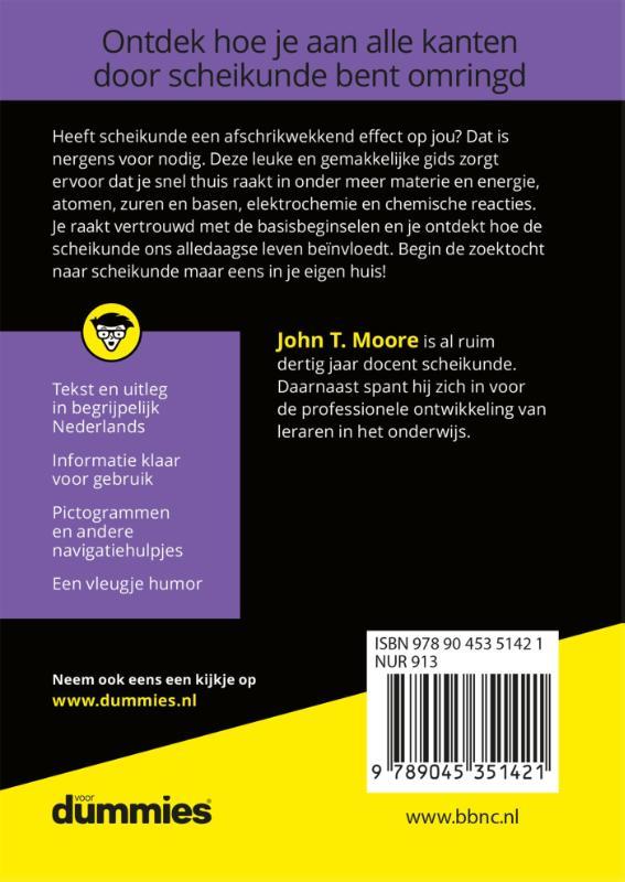 J.T.  Moore,De kleine Scheikunde voor Dummies
