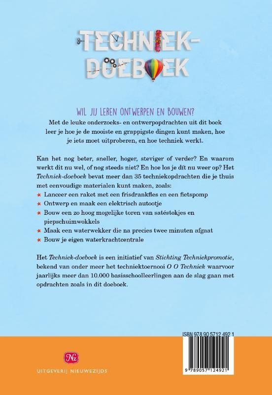 Stichting Techniekpromotie,Techniek-doeboek