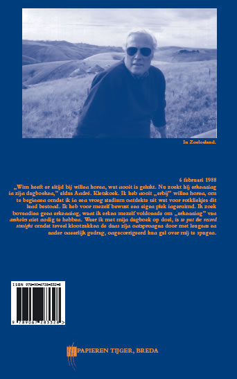 Willem Oltmans,Memoires 1988-A