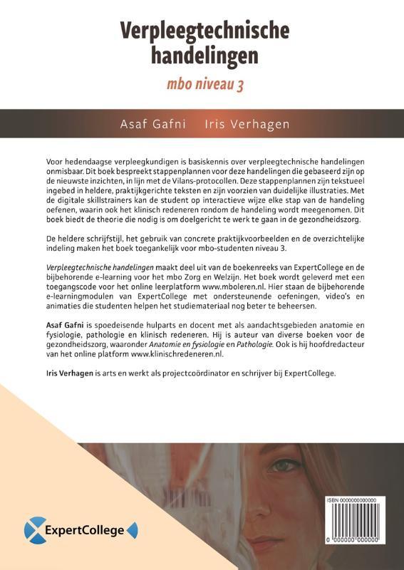 Asaf Gafni, Iris Verhagen,Verpleegtechnische handelingen mbo niveau 3