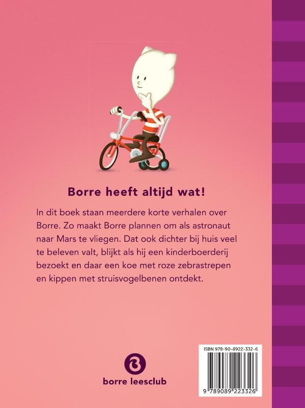 Jeroen Aalbers,Borre heeft altijd wat!