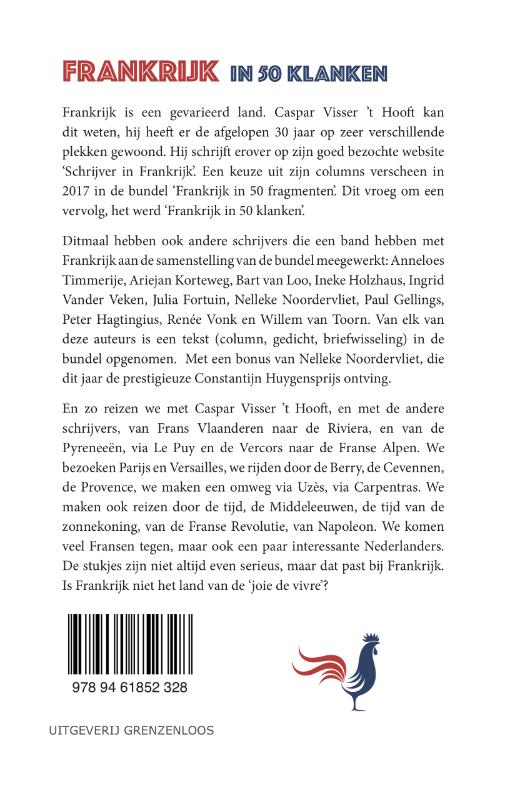 Caspar Visser `t Hooft,Frankrijk in 50 klanken