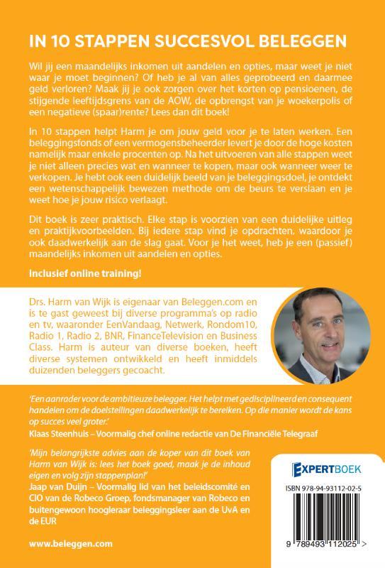 Van, Harm van Wijk,In 10 stappen succesvol beleggen