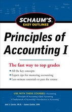 Lerner, Joel J., Ph.D.,   Cashin, James A. Schaum`s Easy Outlines Principles of Accounting I