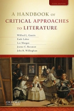 Guerin, Wilfred A Handbook of Critical Approaches to Literature