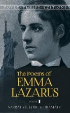 Emma Lazarus The Poems of Emma Lazarus, Volume I