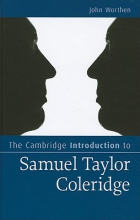 Worthen, John The Cambridge Introduction to Samuel Taylor Coleridge