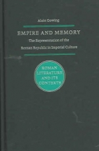 Gowing, Alain M. Empire and Memory