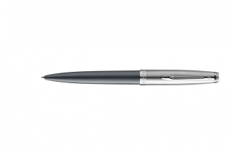 , Balpen Waterman Emblème Deluxe Grey CT M