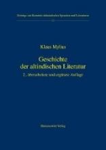 Mylius, Klaus Geschichte der altindischen Literatur