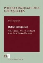 Eyckeler, Franz Reflexionspoesie