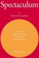Spectaculum 78. Vier moderne Theaterstcke