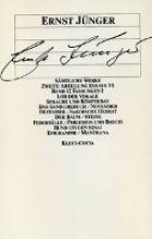 Jünger, Ernst Essays VI. Fassungen I
