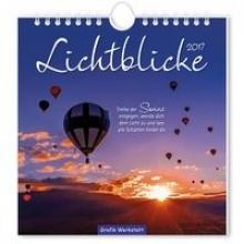 Lichtblicke 2017. Postkartenkalender