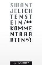 Lichtenstein, Swantje Kommentararten