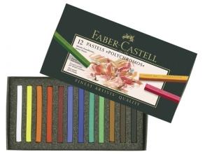 Fc-128512 , Faber-castell 12 pastels polychromos