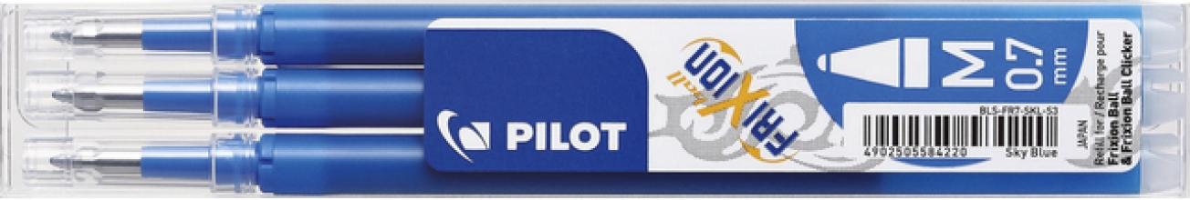 , Rollerpenvulling Pilot Frixion BLS-FR7 0.35mm hemelsblauw