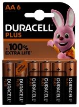 , Batterij Duracell Plus 6xAA