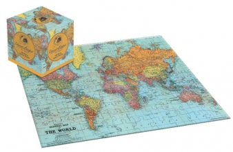 , World puzzel kubus 100 st. Edward Stanford Jigsaw