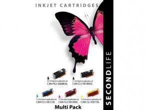, Cartridge SecondLife Canon Multipack 580/581