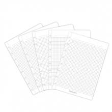 , Uitbreidingsset Correctbook A5 met 5 ruitjes bladen