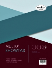 , Showtas Multo A5 17-gaats PP 0.14mm glad