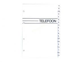 , Telefoonalbum KTC large navulling A-Z 4-rings