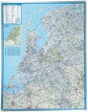 , Landkaart Legamaster Nederland 130x101cm