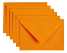 , Envelop Papicolor C6 114x162mm oranje