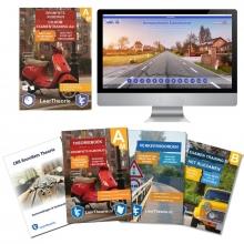 , Theorieboek Scooter 2020 Rijbewijs B Bromfiets Theorieboek Brommer Theorie Samenvatting Verkeerborden overzicht Praktijk informatie CD-ROM met scooter theorie-examens