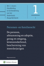 , De persoon, afstamming en adoptie, gezag en omgang, levensonderhoud