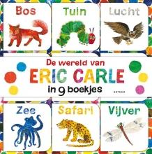 Eric Carle , De wereld van Eric Carle in 9 boekjes gemaakt voor kleine handjes
