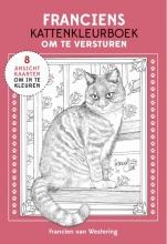 Francien van Westering Franciens kattenkleurboek om te versturen