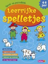 ZNU Speel- en puzzelblok Leerrijke spelletjes (4-6 jaar)