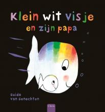 Guido Van Genechten Klein wit visje en zijn papa