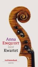 Anna  Enquist Kwartet, luisterboek, 8 CD`s