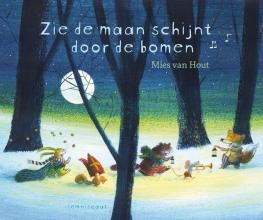 Mies van Hout Zie de maan schijnt door de bomen. kartonboekje met CD