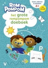Het grote Rompompom doeboek 4-6 jaar lezen rekenen schrijven