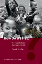 Patrick Develtere , How do we help?