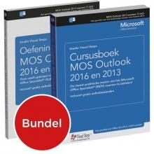 Studio Visual Steps , Cursusboek MOS Outlook 2013 en 2016