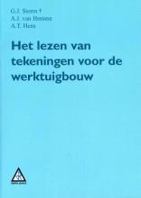 A.T. Hens G.J. Storm  A.J. van Hemme, Het lezen van tekeningen voor de werktuigbouw