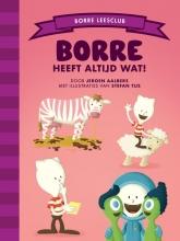 Jeroen Aalbers , Borre heeft altijd wat!