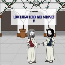 Ls  Coronalis Leuk Latijn leren met stripjes V